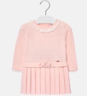 mayoral knit jurkje floral pink 68