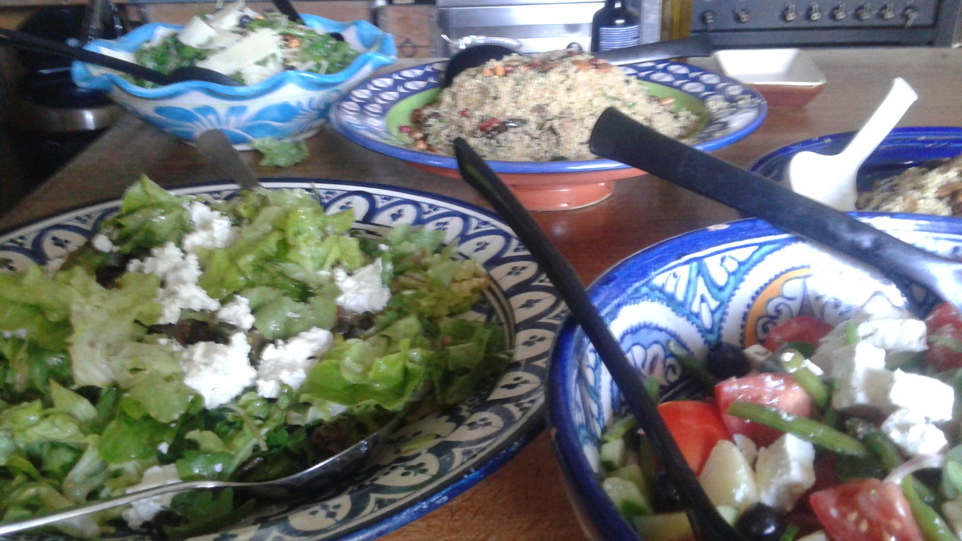 Uw salades aan huis bezorgd