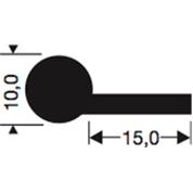 Siliconenprofiel 1015-Sil
