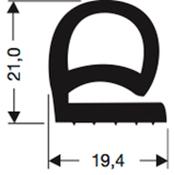 Siliconenprofiel 44-Sil