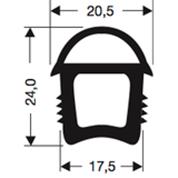 Siliconenprofiel 45-Sil