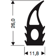 Siliconenprofiel 51-Sil