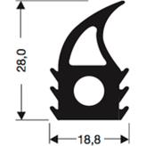 Siliconenprofiel 52-Sil