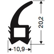 Siliconenprofiel 54-Sil