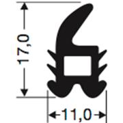 Siliconenprofiel 55-Sil
