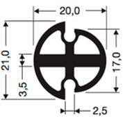 Siliconenprofiel 59-Sil