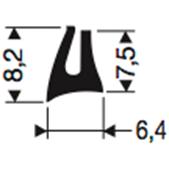 Siliconenprofiel 63-Sil
